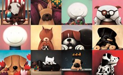 Zoom Party by Doug Hyde - Limited Edition on Paper sized 28x17 inches. Available from Whitewall Galleries