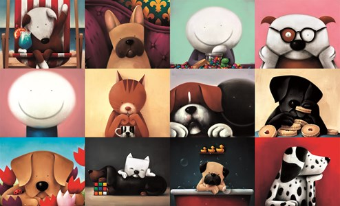 Zoom Party by Doug Hyde - Limited Edition on Paper